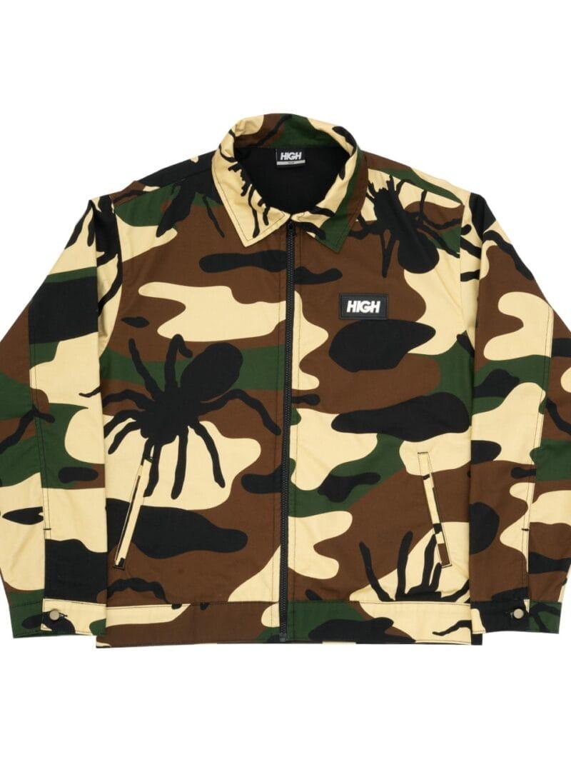 bug camo jacket woodland
