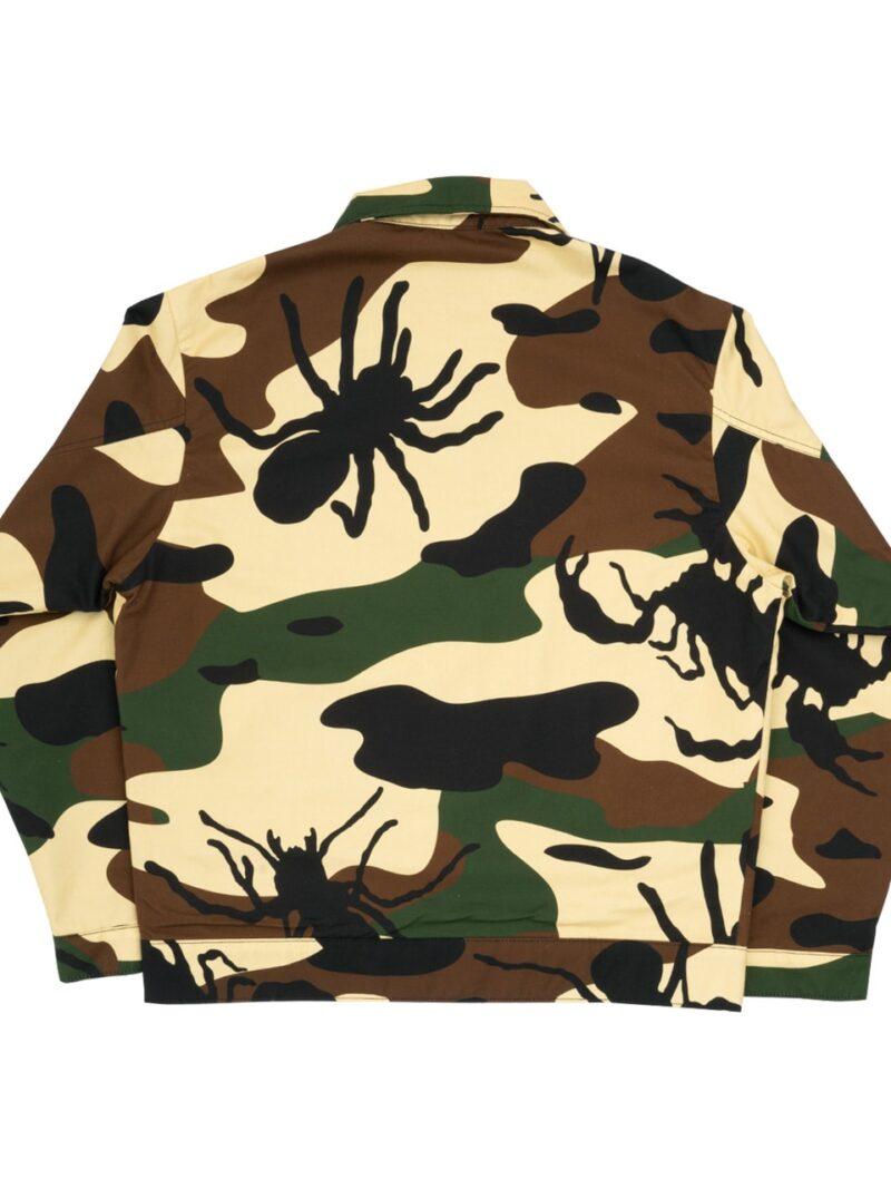 bug camo jacket woodland back
