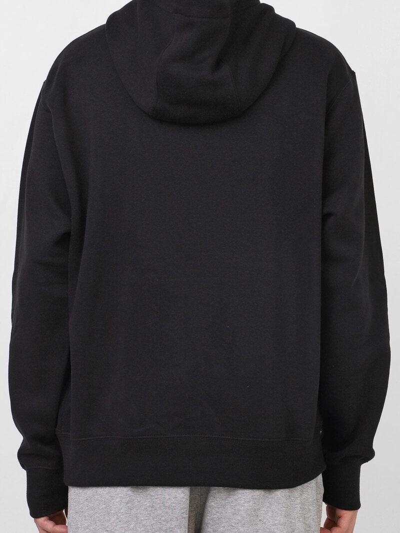 nike sportswear moletom flanelado fechado nike sportswear nsw club hoodie po bb preto 4527 9860785 2 zoom