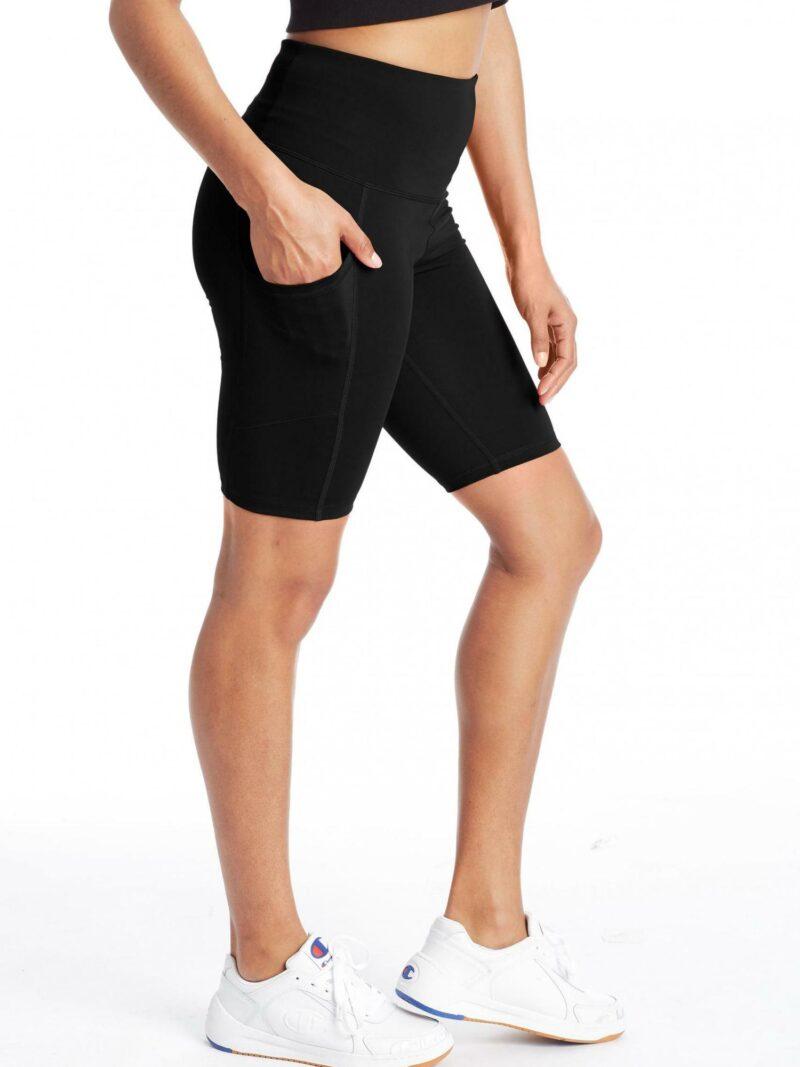 sport bike shorts triple c logos black champion womens shorts 3
