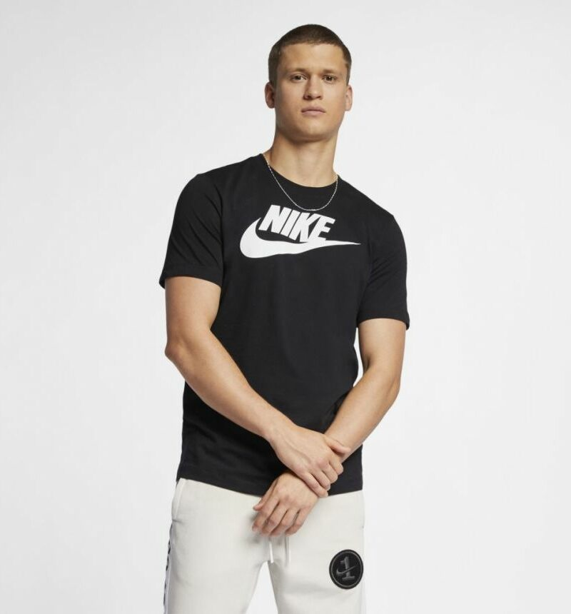 camiseta nike sportswear tee icon futura masculina ar5004 010 1