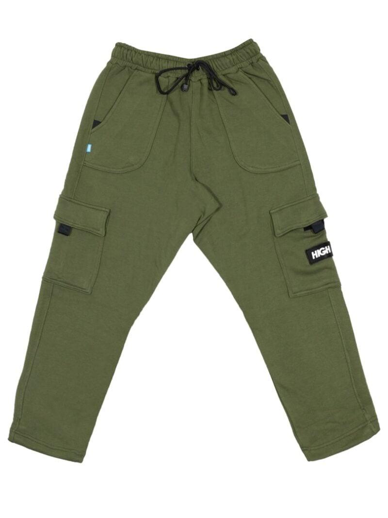 sweatpants cargo olivegreen